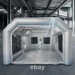 Spray Booth Inflatable Tent Car Paint Portable Cabin Air Filter 26x13x10ft Spray Booth Inflatable Tent Car Paint Portable Cabin Air Filter 26x13x10ft Spray Booth Inflatable Tent Car Paint Portable Cabin Air Filter 26x13x10ft Spray Booth