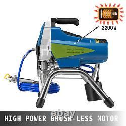 Spray Painter Airless Paint Sprayer 2200w Machine De Pulvérisation Électrique Pour La Peinture