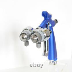 Spray Pistolet Peinture Compresseur D'air Airbrush Hvlp Spray Airbrush Double Buse 1.2mm