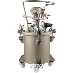 Vevor 2.6 Gal Vaporisateur De Peinture De Pression Pot Réservoir Automatique De Pression De Peinture D'air